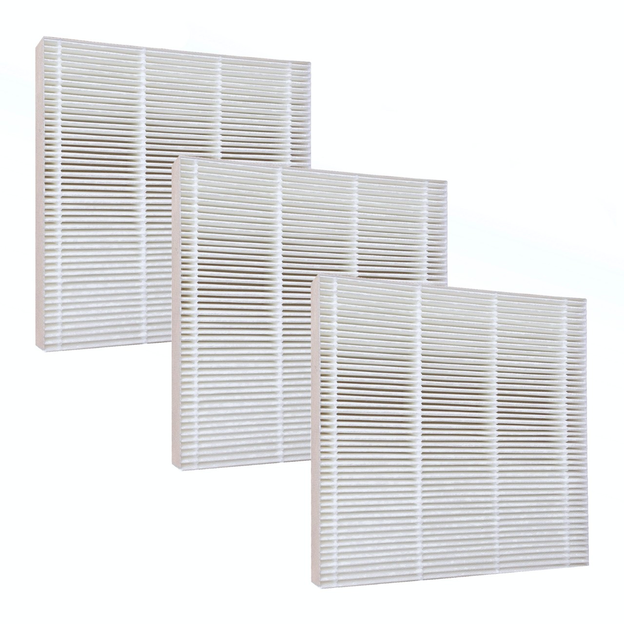 3 hepa filters for fresh air by ecoquest air purifier