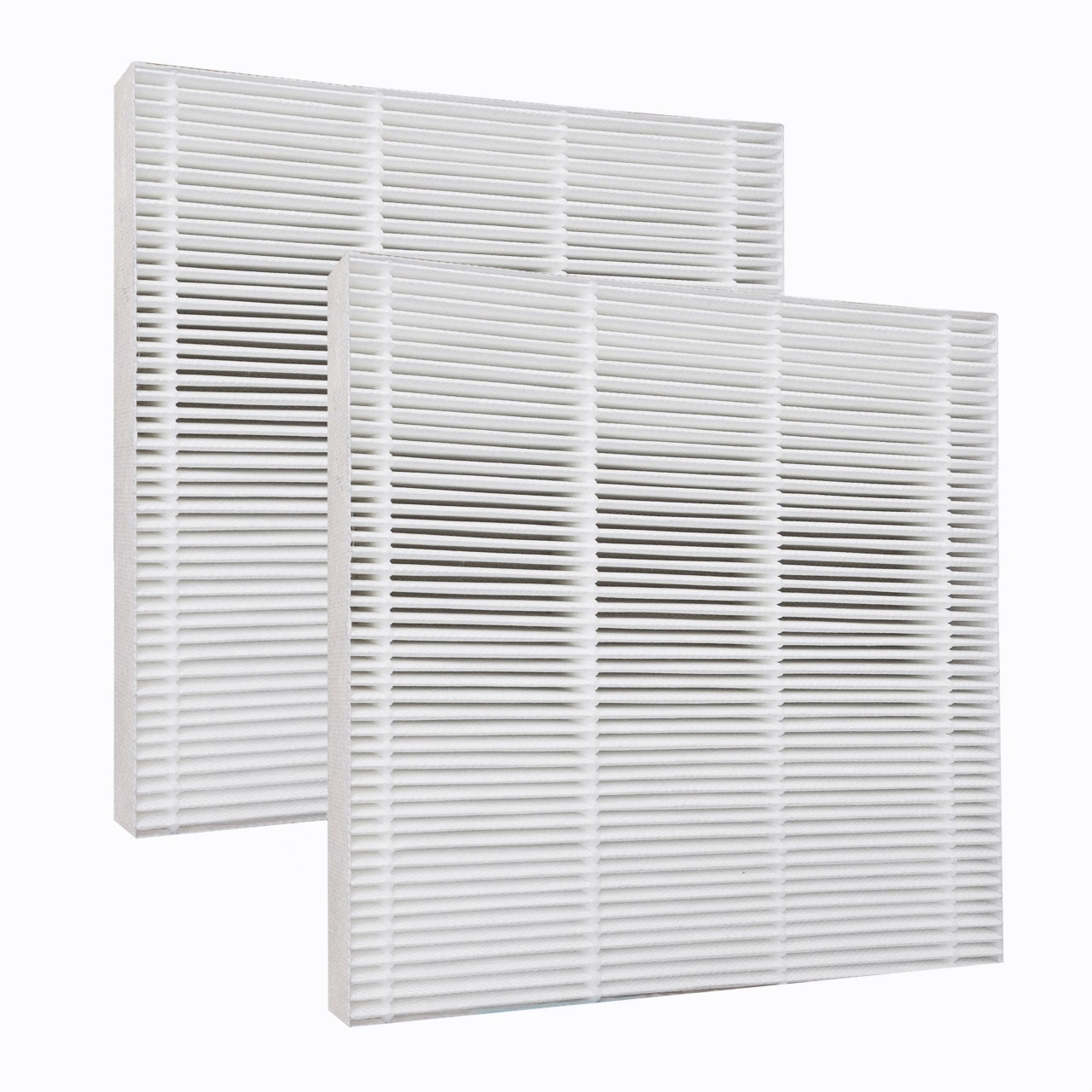 2 hepa filters for fresh air by ecoquest air purifier