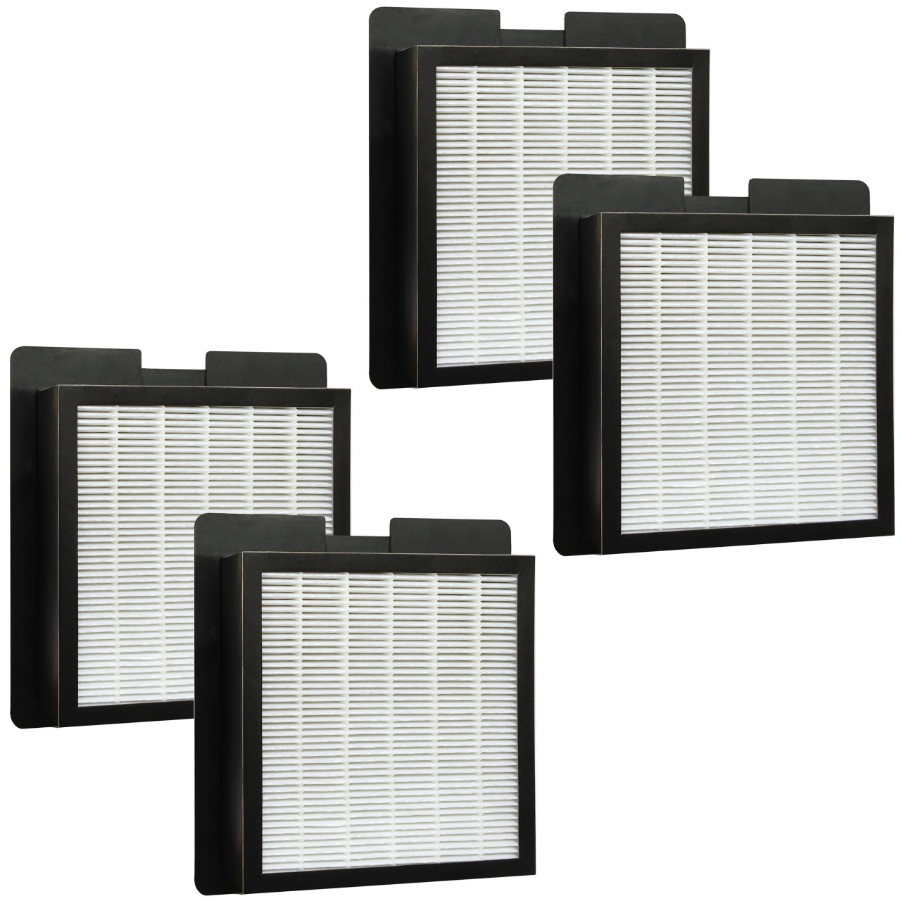 4 hepa filters for fresh air by ecoquest and xl 15 by